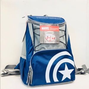Captain America ptx cooler backpack